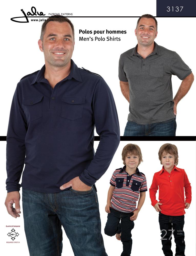 Jalie Men's Polo Shirts 3137