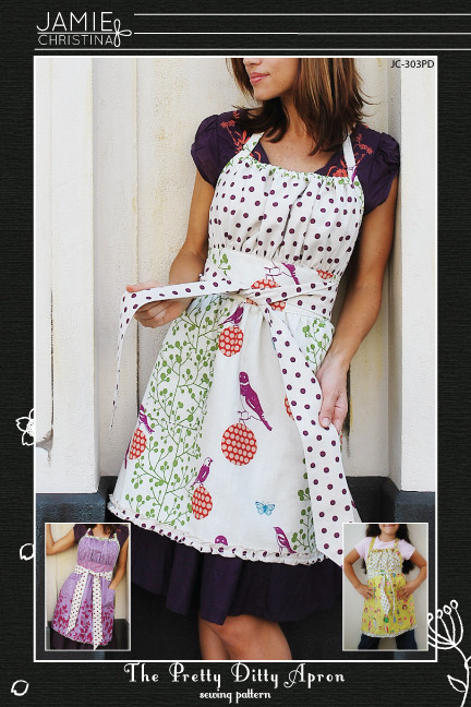 Jamie Christina Pretty Ditty Apron JC303PD