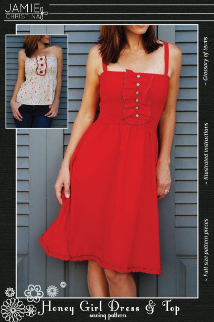 Jamie Christina Honey Girl Dress and Top JC304HG