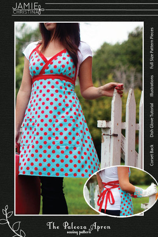 Jamie Christina Palooza Apron Pattern (JC309PA)
