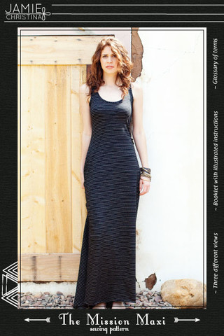 Jamie Christina Mission Maxi Pattern (JC312MM)