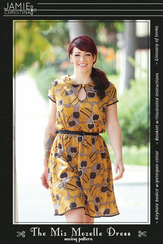 Jamie Christina Miz Mozelle Dress Paper Pattern