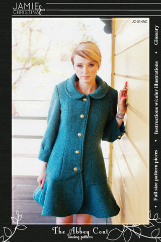 Jamie Christina Abbey Coat Pattern (JC314AC)