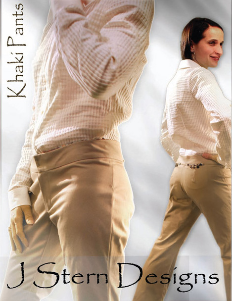 J Stern Designs Khaki Pants 0030