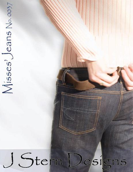 J Stern Designs Misses' Jeans 0037