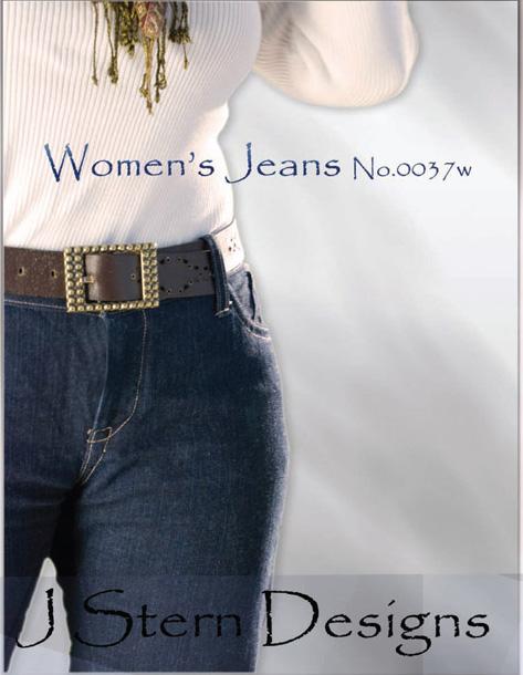 J Stern Designs Women's Jeans 0037W