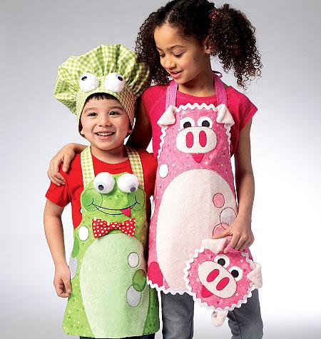 Kwik Sew Child's Apron 0114