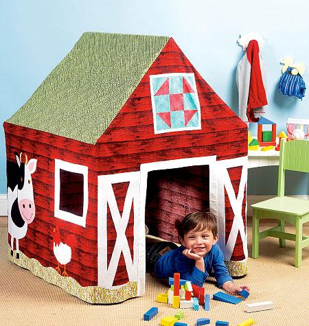 Kwik Sew Barn Playhouse 0125