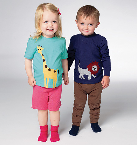 Kwik Sew Toddlers' Top, Shorts and Pants 0133