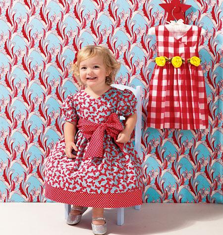 Kwik Sew Toddler Dress 0134