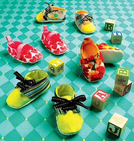 Kwik Sew Baby booties 0141