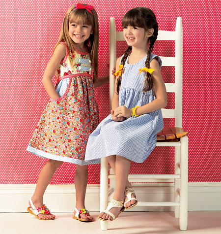 Kwik Sew Child's Dresses 0143