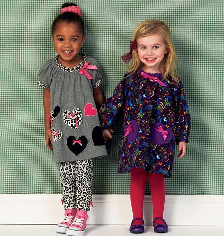 Kwik Sew Toddlers' Dresses and Leggings 0146