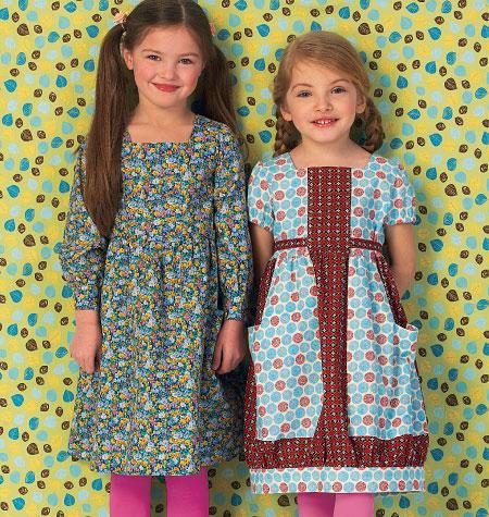 Kwik Sew Girls' Dresses 0147