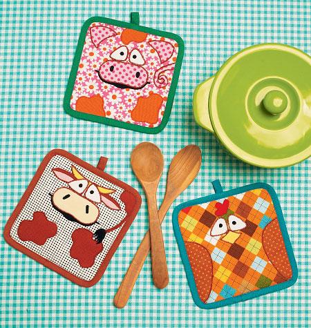 Kwik Sew Potholders 0150