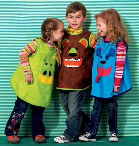 Kwik Sew Children's Smocks 0154