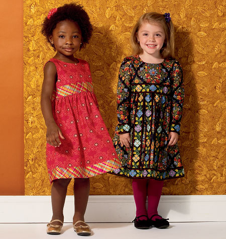 Kwik Sew Girls' Dresses 0156