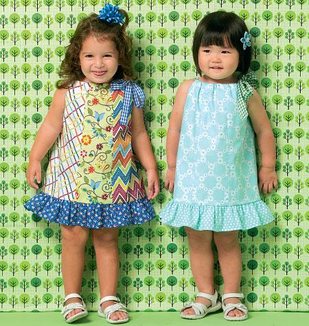 Kwik Sew Toddlers' Dresses 0169