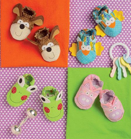 Kwik Sew Babies Booties 0170