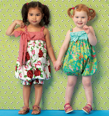 Kwik Sew Toddlers' Rompers 0174