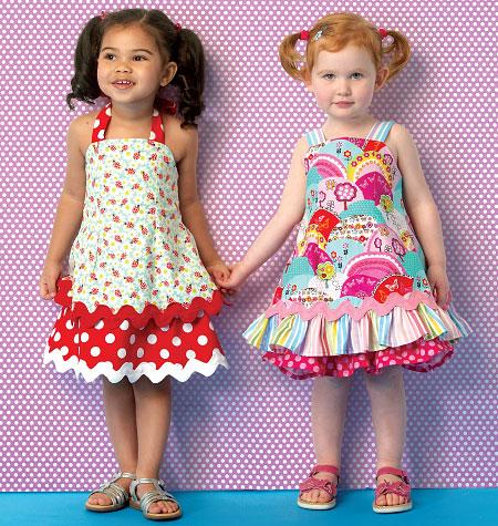 Kwik Sew Toddlers' Dresses 0175
