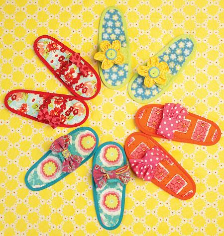 Kwik Sew Misses' Slippers 0178