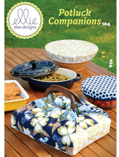 Kwik Sew Casserole Carrier and Bowl Covr 104