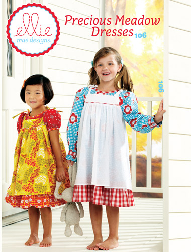 Kwik Sew Precious Meadows Girls Dresses 106