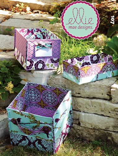 Kwik Sew Stash Baskets in 4 sizes 107
