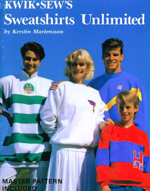 Kwik Sew Sweatshirts Unlimited Pattern Book ks-sweatshirts