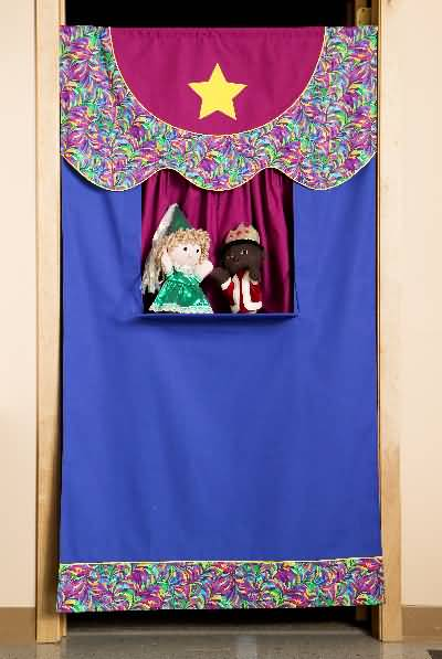 Kwik Sew 3322 Crafts Puppet Theater And Puppets Sewing Pattern