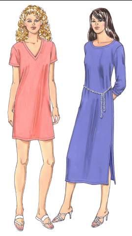 Kwik Sew Misses Dresses 3394