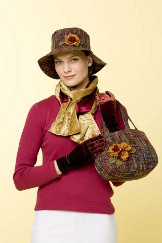 Kwik Sew Crafts Hat,Bag,Shawl, Gloves, Flowers 3397