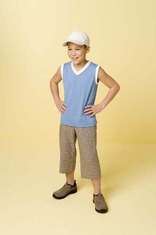 Kwik Sew Boys Shorts, Shirts & Hat 3398