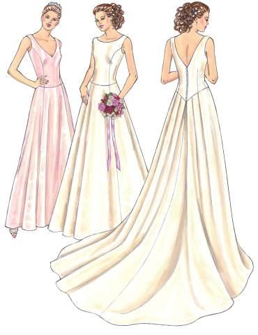 Kwik Sew Misses Gowns 3401