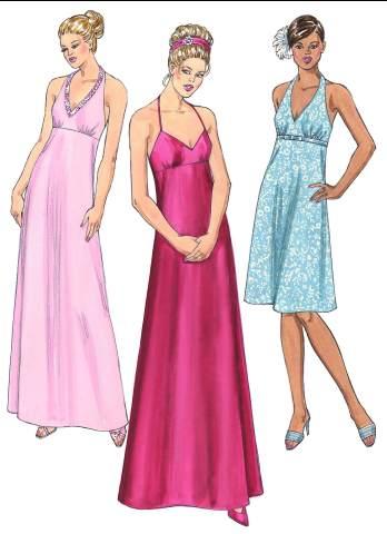 Kwik Sew Misses Dresses 3402