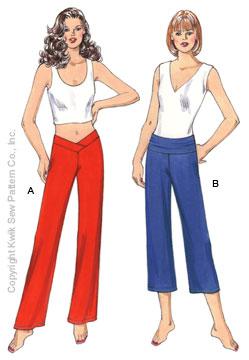 Kwik Sew Misses Pants 3443