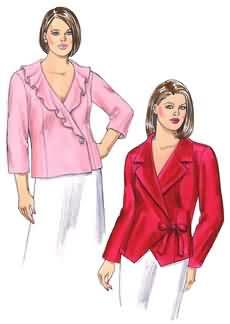 Kwik Sew Women Blouse-Jackets 3471