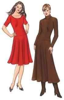 Kwik Sew Misses Dresses 3472