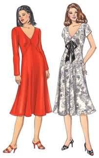 Kwik Sew Misses Dresses 3473