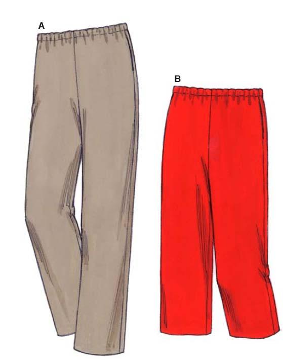 Kwik Sew Women Pants & Shorts 3482