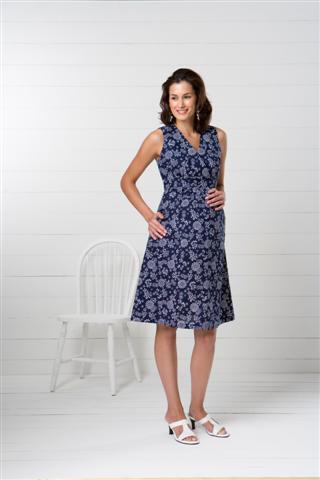 Kwik Sew Misses Maternity Dresses 3486