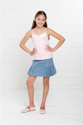 Kwik Sew Girls Tops & Skirts 3499