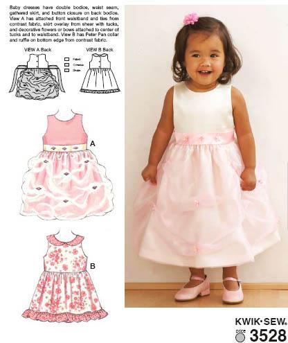 Kwik Sew Dresses 3528
