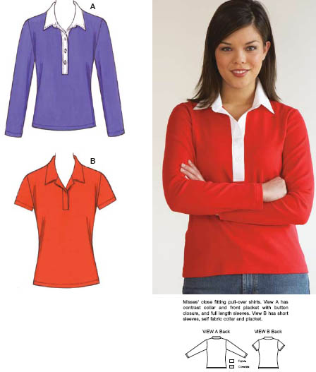 Kwik Sew Shirts 3532