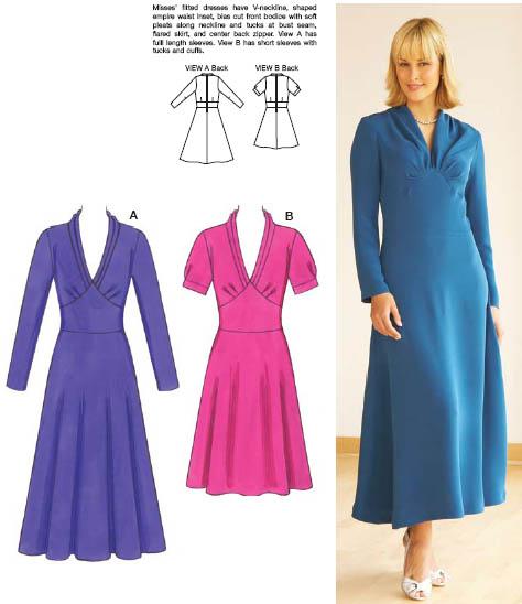 Kwik Sew Dresses 3539