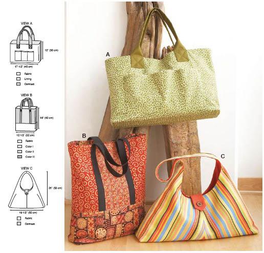 Kwik Sew Bags 3545