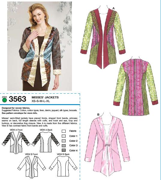 Kwik Sew Jackets 3563