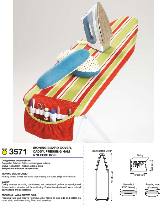 Kwik Sew Ironing Board Cover 3571