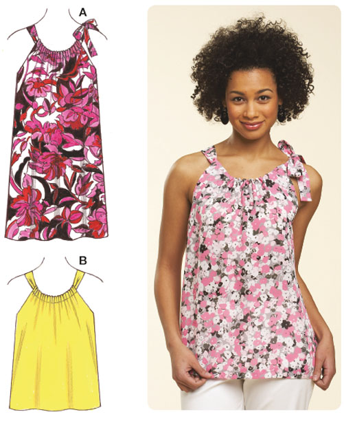 Kwik Sew Misses Top & Dress 3610